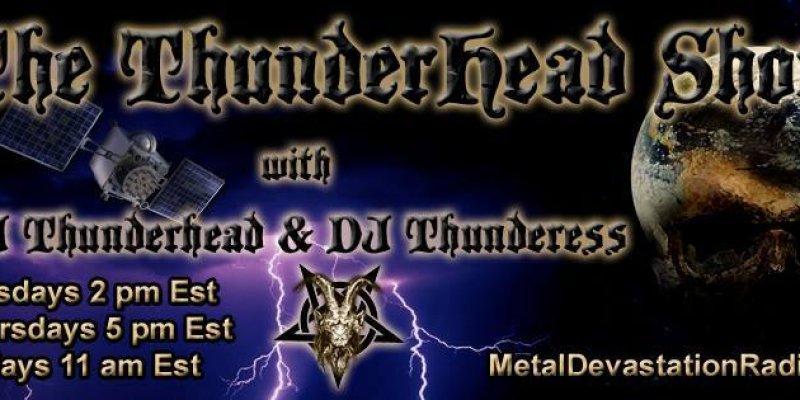 Thunderhead show Live today 4pm est to 9pm est
