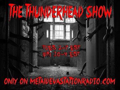 The Thunderhead show 2 for tuesday 2pm est