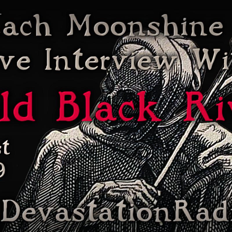Cold Black River - Live Interview - The Zach Moonshine Show