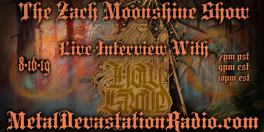 Holy Grove - Live Interview - The Zach Moonshine Show