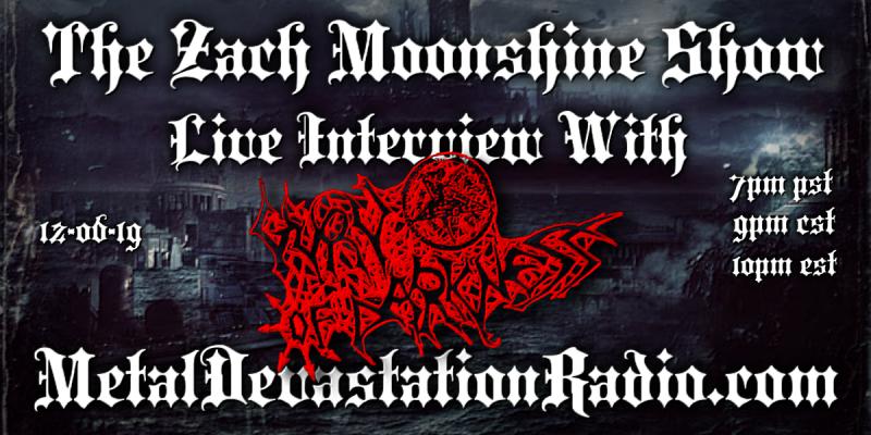 Guru Of Darkness - Live Interview - The Zach Moonshine Show