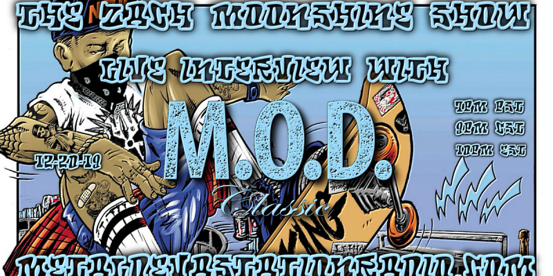 M.O.D. Classic - Live Interview - The Zach Moonshine Show
