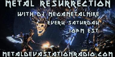 Metal Resurrection - Year End Show Tonight!
