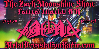TOXIC HOLOCAUST - Featured Interview - The Zach Moonshine Show
