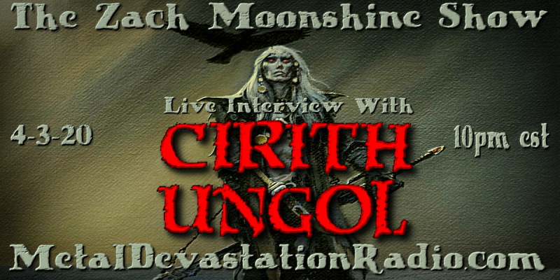 Cirith Ungol - Live Interview - The Zach Moonshine Show