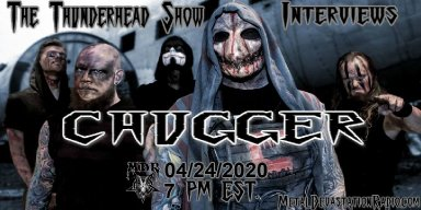 Exclusive Album Release Interview with Band Chugger April 24th on The Thunderhead show