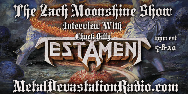 Testament's Chuck Billy - Featured Interview - The Zach Moonshine Show
