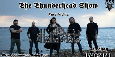 Exclusive Interview with The Band Hand Of fate On The Thunderhead Show