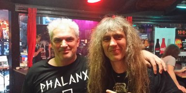 GRAVE DIGGER concert 27th Jan 2019, opener Burning witches, Thanatos visited gig