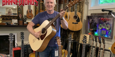 BraveWords has teamed up with former Triumph singer/guitarist Rik Emmett to giveaway a signed Simon & Patrick acoustic guitar!
