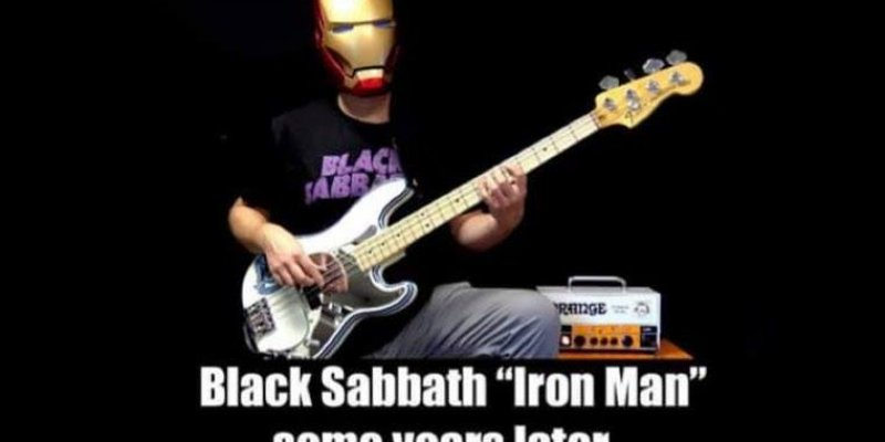 "ALBERTO RIGONI Releases Bass Playthrough For BLACK SABBATH's ""Iron Man""!"