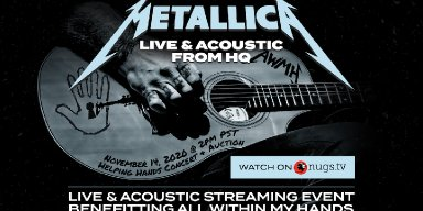 Watch Metallica Live & Acoustic from HQ