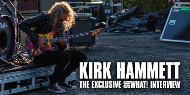 Kirk Hammett In Conversation With So What!