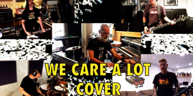 SLAVES ON DOPE'S JASON ROCKMAN & KEVIN JARDINE PRESENT A COVER OF FAITH NO MORE'S WE CARE A LOT FEATURING ANTHRAX, KORN, MASTODON, MEN WITHOUT HATS, RUN DMC, OUR LADY PEACE AND MANY MORE