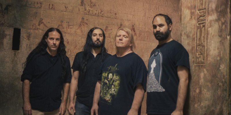 NADER SADEK: Decibel Magazine Premieres New Track From The Serapeum With Vocals Recorded Inside The Pyramid Of Snefru; EP Featuring Members Of Nile, Serpents Rise, Perversion, And More To See Release Next Month