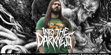 Mike Erdody vocalist of Temple of Void on INTO THE DARKNESS