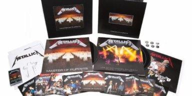 Watch James Hetfield Unbox METALLICA: 'Master Of Puppets' Reissue Box Set!