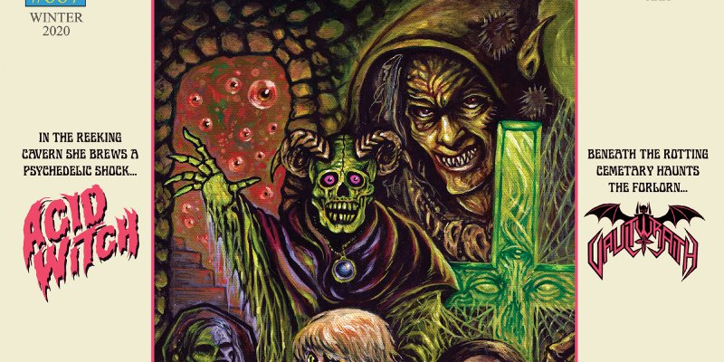 "ACID WITCH and VAULTWRAITH to release long-awaited split 7"" EP thru HELLS HEADBANGERS"