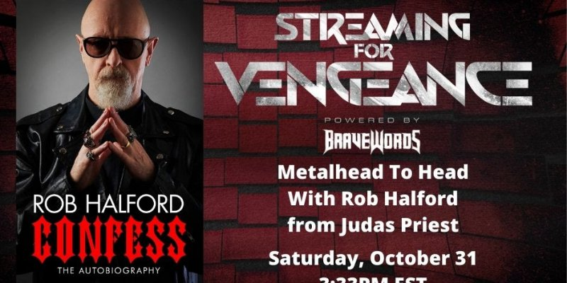 "BraveWords Goes ""Metalhead To Head"" with Rob Halford This Saturday"
