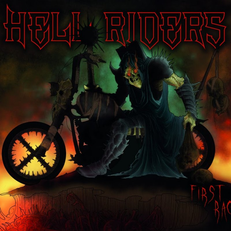 Hell Riders - First Race - Reviewed By Metal Wave!