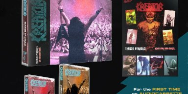 """KREATOR: Reborn Through Tapes Records to release """"Terror Prevails"""" for the first time on tape!"""