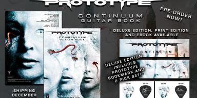 "PROTOTYPE to release ""Continuum"" guitar book via Sublevel Records!"