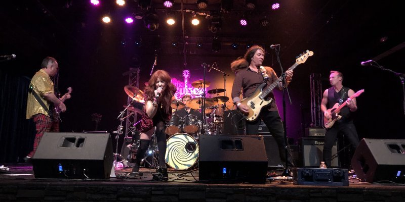 Slow Burning Car - Projection - Featured At Pete's Rock News And Views!