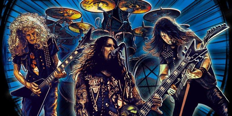 "Destruction release ""Born to Thrash-live in Germany"" U.S version through Deko Entertainment."