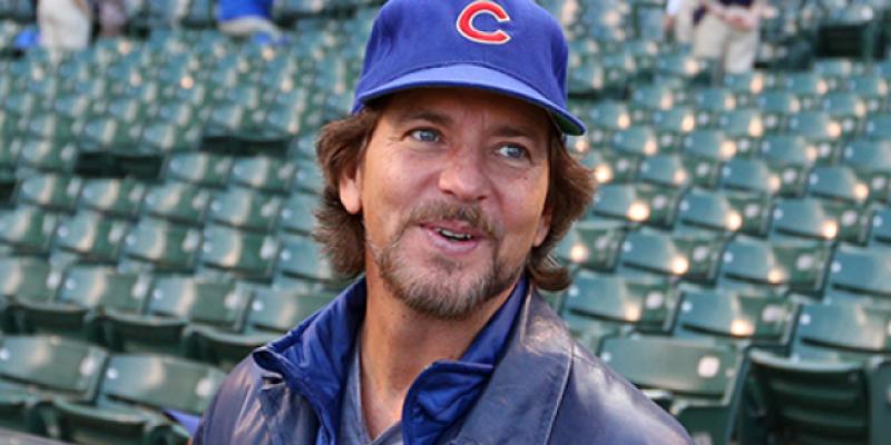 Eddie Vedder Busks Outside Wrigley Field After Cubs Game