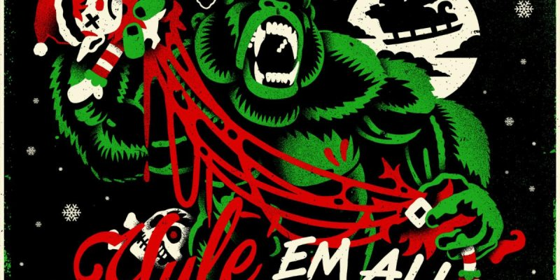 """The Black Dahlia Murder announces """"Yule 'Em All: A Holiday Variety Extravaganza"""" livestream for Friday, December 18th - featuring live performances, special guests & more!"""