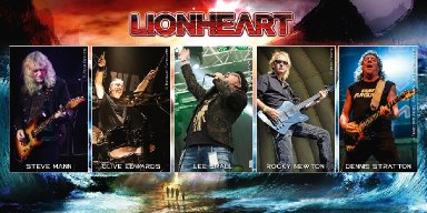 LIONHEART to release holiday single with all proceeds going to children's hospice - features ex-members of IRON MAIDEN, UFO+++