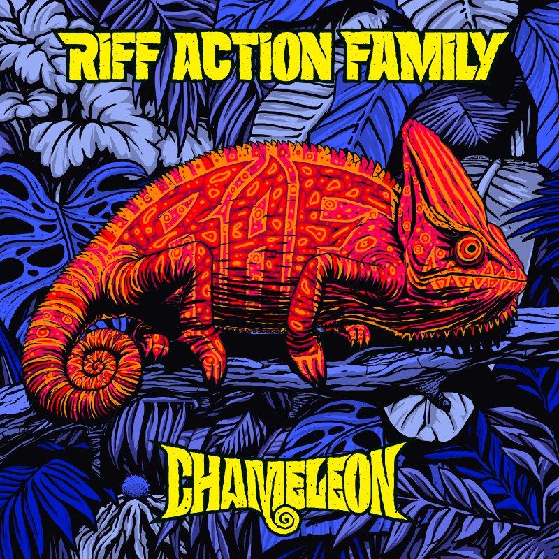 """Riff Action Family (New Release, """"Chameleon"""")"""