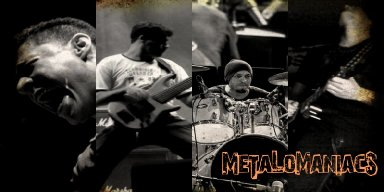 Metalomaniacs - Last Day On Earth - Streaming At Rock On The Rise Radio!