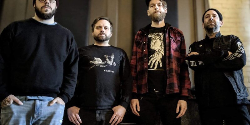 """Cell Press Drummer Posts Playthrough """"Piss Police"""" From Their Noisy, Sludgy Debut Self-Titled EP"""