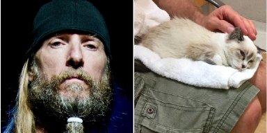 OBITUARY DRUMMER BRAVES HURRICANE IRMA'S WRATH TO SAVE INJURED KITTEN