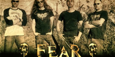 FEAR CONNECTION sign with Black Sunset