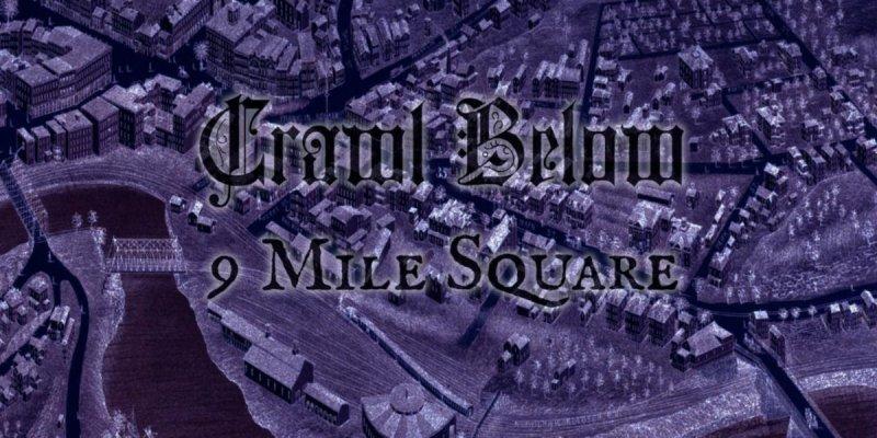 Post-Metal/Doom Project CRAWL BELOW Releasing '9 Mile Square' in February