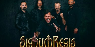 """SIGNUM REGIS are releasing a new EP called """"Flag Of Hope"""", together with a video for the title song"""