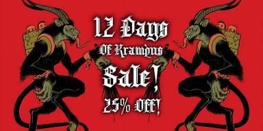 12 Day Krampus Sale - 25% Off All Promo Packs!
