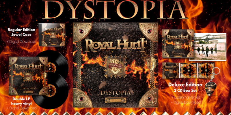 Royal Hunt - Dystopia - Reviewed By Metal Underground!