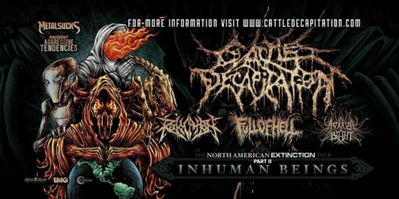 CATTLE DECAPITATION To Kick Off Headlining Tour With Revocation, Full Of Hell, And Artificial Brain Next Week!