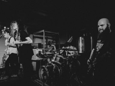 MYOPIC & AT THE GRAVES To Release A Cold Sweat Of Quiet Dread Collaborative Full-Length March 12th Via Grimoire Records; Preorders Available