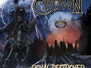 "The Crown reveals details for new album, 'Royal Destroyer'; launches video for new single, ""Motordeath"""