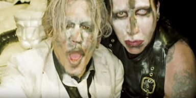 See MARILYN MANSON's NSFW 'SAY10' Video Featuring JOHNNY DEPP