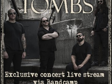 TOMBS Announces Exclusive Virtual Concert via Bandcamp!