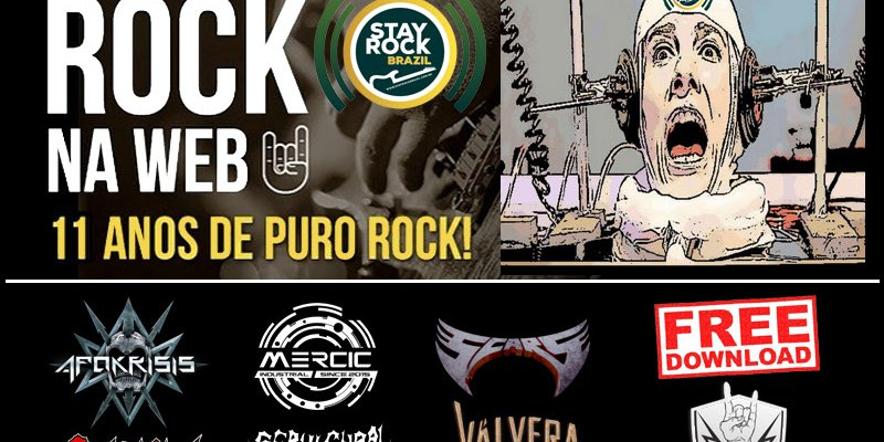 FREE VIRTUAL COLLECTION OF THE WEB RADIO STAY ROCK BRAZIL!
