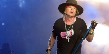 AXL ROSE Blasts Vice President MIKE PENCE For Using Government Travel For COLTS 'PR Stunt'