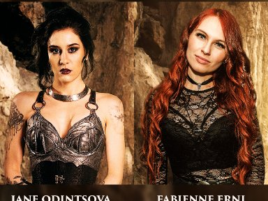 JANE ODINTSOVA (IMPERIAL AGE) AND FABIENNE ERNI (ELUVEITIE, ILLUMISHADE) LIVE CHAT AND Q&A