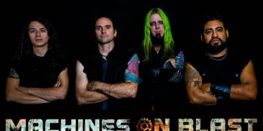 Machines On Blast - Interviewed By Brutal Resonance!