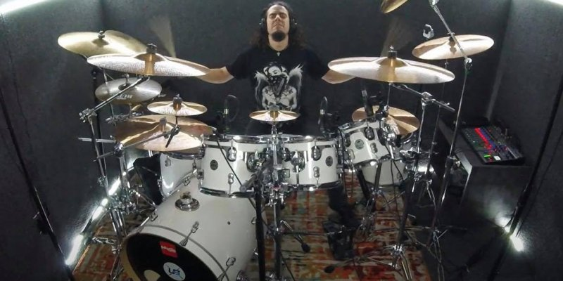 RAGE IN MY EYES Drummer Releases Drum Playthrough Video For 'The Core'!